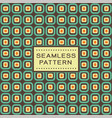 retro seamless pattern with simple geometric vector image vector image