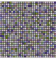 seamless background from squares mosaic effect vector image
