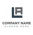vala al company group logo concept idea vector image vector image