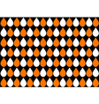 White Orange Water Drops Black Background vector image
