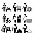commodities precious industrial metal stick vector image vector image