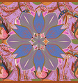 cute floral pattern in the small flower abstract vector image vector image