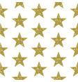 gold glitter stars background vector image