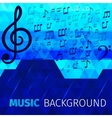 Music abstract background vector image