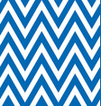 seamless blue and white zigzag stripes pattern vector image vector image