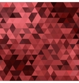 triangles colored background vector image