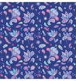 Blue Indian Pattern vector image