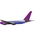Airplane toy vector image vector image