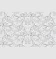 damask baroque pattern background ornament decor vector image