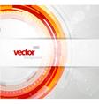 Futursitic circles vector image