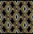 oriental ethnic style greek seamless pattern vector image vector image