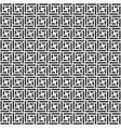 pattern with symmetric ornament vector image vector image