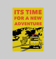vintage slogan typography its time for a new vector image