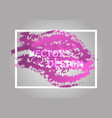 abstract background with pink gradient vector image vector image