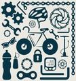 Bike tools vector image vector image