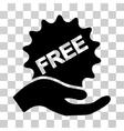 Free Present Icon vector image vector image