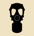 gas mask pictogram vector image vector image