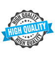 high quality stamp sign seal vector image