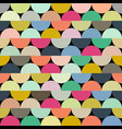 seamless halves rounds colourful pattern vector image vector image