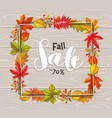 seasonal autumn banner vector image