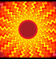 Sun Heat Burst Ray Background vector image