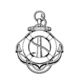 an old nautical anchor