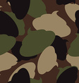 Army pattern of turd Military camouflage texture vector image vector image