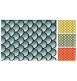 Fish scales texture vector image vector image