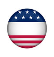 United states campaign button vector image