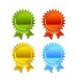 Award icon set vector image