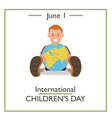 children day vector image