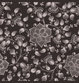 Flower seamless pattern element elegant