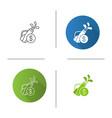 golf equipment shop icon vector image vector image
