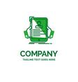 resume employee hiring hr profile flat business vector image vector image
