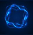 abstrat light background swirl trail effect vector image