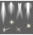 Concert Lighting Stage Spotlights Lantern vector image vector image
