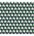 Dark cubes seamless pattern