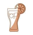 delicious fresh drink vector image vector image