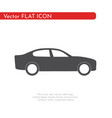 flat icon car for web business finance and vector image vector image