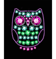 Gem Owl vector image vector image