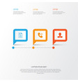 hr icons set collection of curriculum vitae vector image vector image