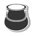 Jug glass icon design vector image