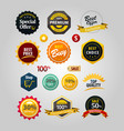 premium discount sticker logo sign symbol icon vector image