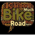 Road Bikes For Sale text background wordcloud vector image vector image