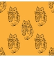 Seamless pattern od cats vector image vector image