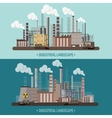 Urbanization Industrial vector image