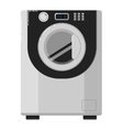 Washing machine isolated on white background vector image