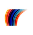 Abstract flowing motion wave liquid colors mixing