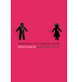Breast Cancer Awareness cards design vector image