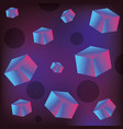 geometrical futuristic backgrouns vector image vector image